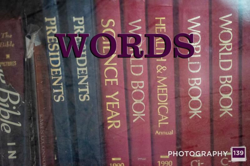 WEEK 299 - WORDS
