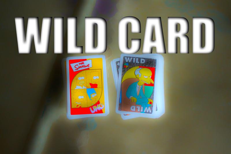 WEEK 52 - WILD CARD