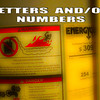 WEEK 36 - LETTERS AND/OR NUMBERS