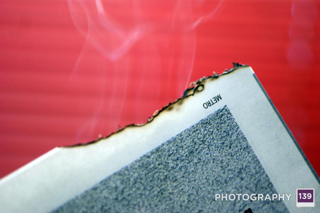 WEEK 43 - SMOKE PHOTOGRAPHY - CHRISTOPHER D. BENNETT