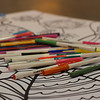 WELCA @ 2016 ELCA Churchwide Assembly and Grace Gathering<br /> <br /> Visitors to our space were welcome to spend sometime away from business by coloring. Ahhh! Relaxing.