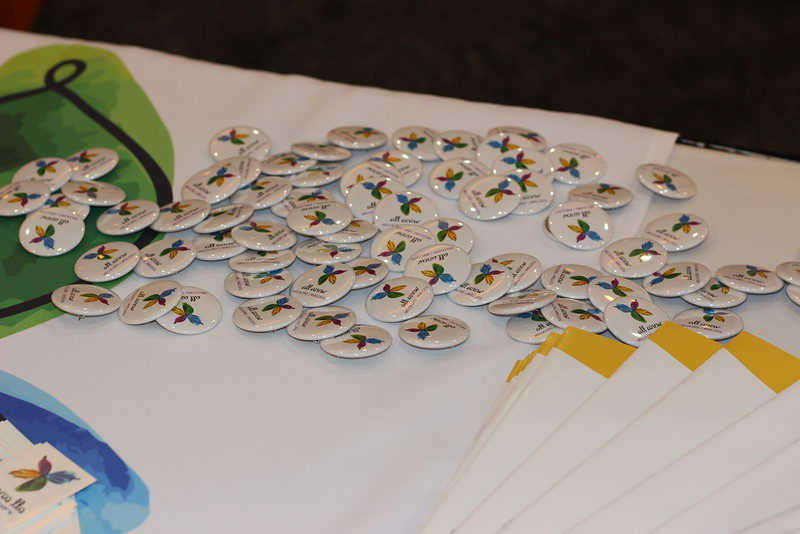 WELCA @ 2016 ELCA Churchwide Assembly and Grace Gathering<br /> <br /> In our space, we also handed out lots of promotional items for our upcoming Tenth Triennial Gathering in July 2017.