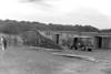 Hurricane - Damage at the drive-in, Wellfleet, MA , late 1950s