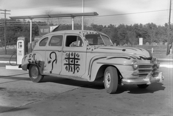 Custom paint job. , late 1950s