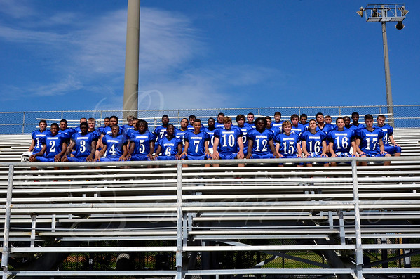 Wellington High School Wolverine Football Team 2014/15