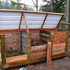 Recycled-Pallet-Compost-Bin