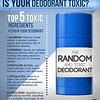 is your deodorant toxic