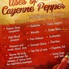 uses of cayenne pepper