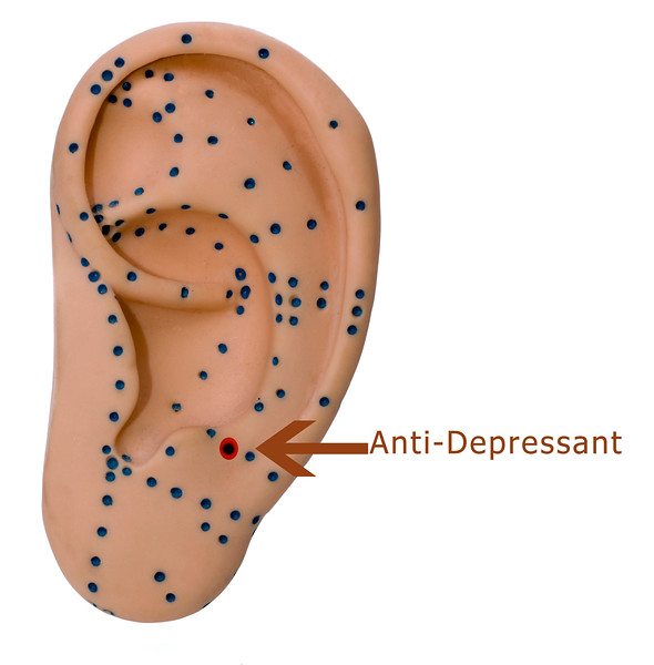 Anti-Depressant ear point