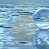 water can be solid, liquid, vapor