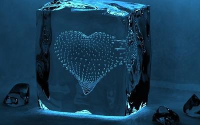 water cube heart