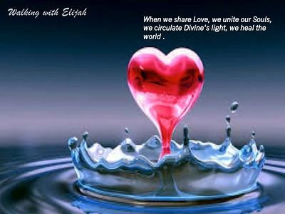 when we share love