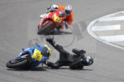 #166 Novice crash