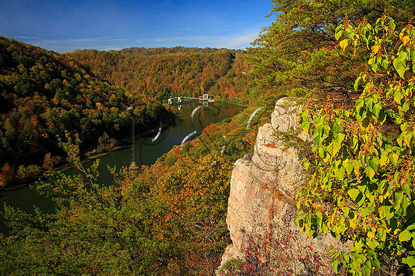 WV ANSTED NEW RIVER LOVERS LEAP OCTJH_MG_6209SSW