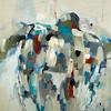 Loggerhead-Ridgers, 48x48 on canvas (AEAZAS14-8-13)