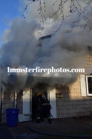 WESTBURY FD 5 ALARM  FIRE