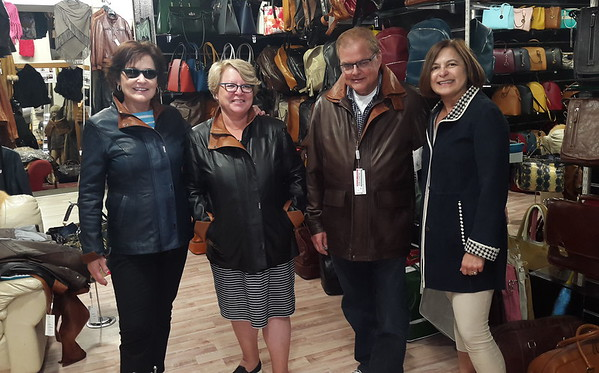 Leather shopping in Florence