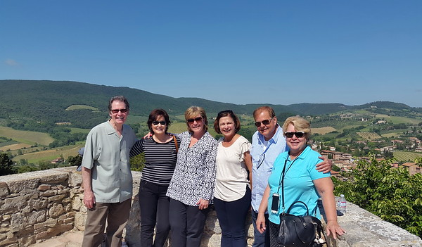 San Gimignano, with wine tasting and lunch