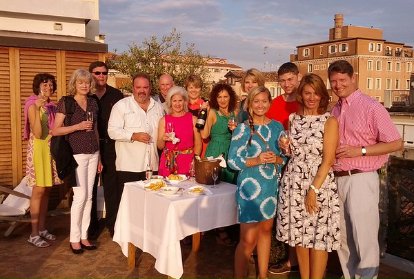 Italian Great Cities Tour with Amalfi Extension, June 10 to June 19 Guests: Jennifer and Donna, Carol and Greg, Nevin and Ronda; Patty, Allen, Max and Hannah; Pamela and Douglas, Joyce and Jeffrey-Joe and Joni joined us in Rome