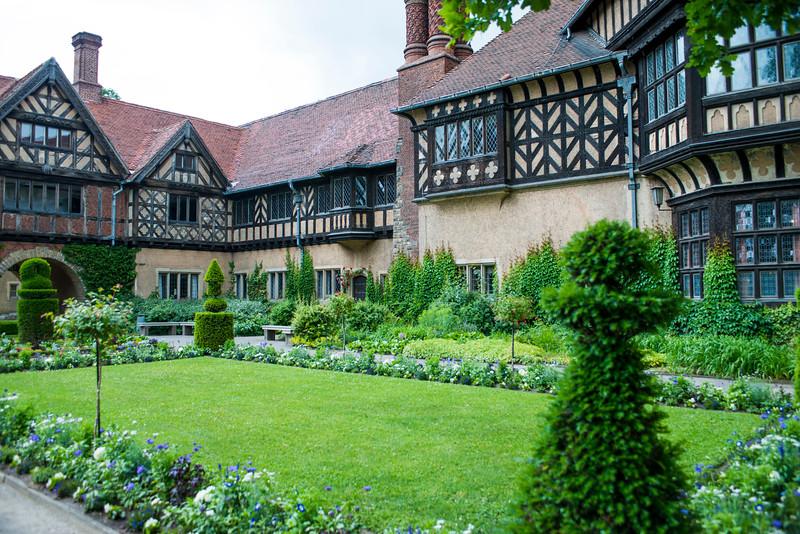 Schloss Cecilienhof garden.