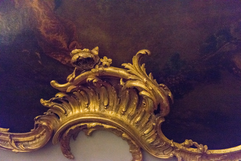 DETAIL OF SANSSOUCI FRAME.