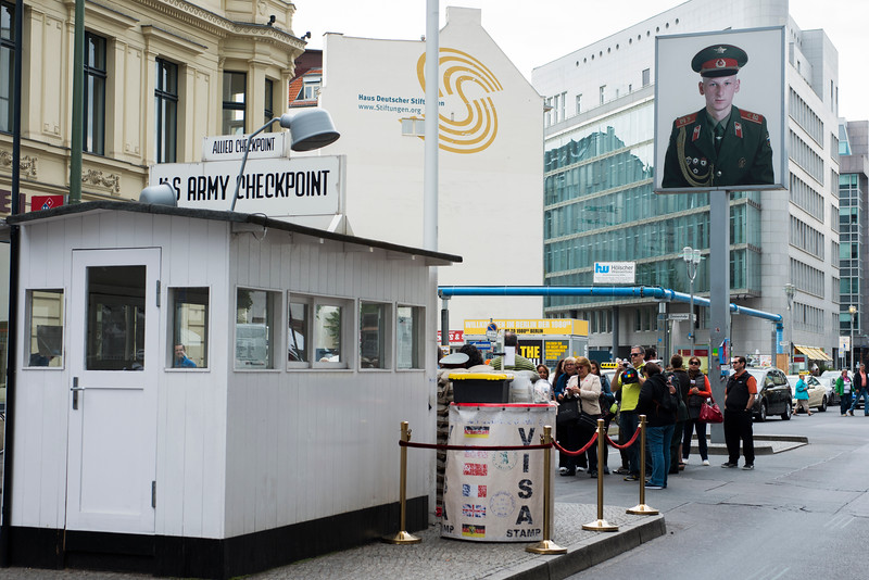 CHECKPOINT CHARLIE, BERLIN, 2015.