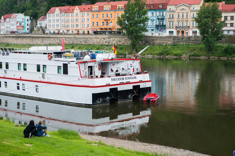 A couple in Děčín dreams of the day when they too will cruise with Viking.
