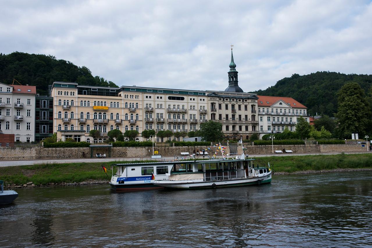 Saxony near the park.