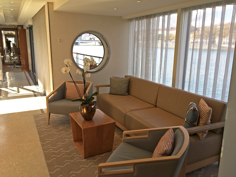 Sitting area on the upper deck.