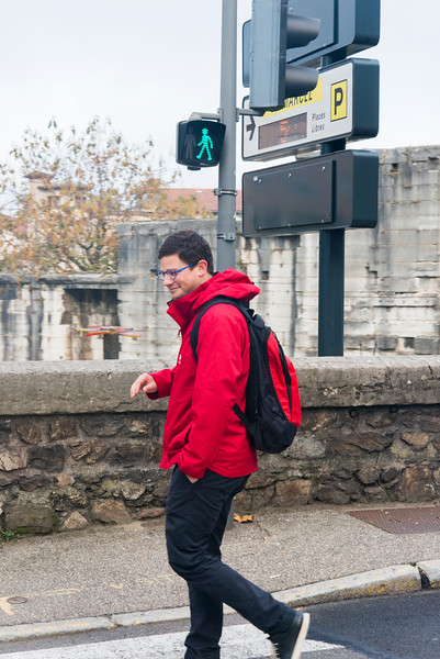 The most capable Program Director in the Viking fleet, Nickolas, strolls to town to support the guests in Vienne.