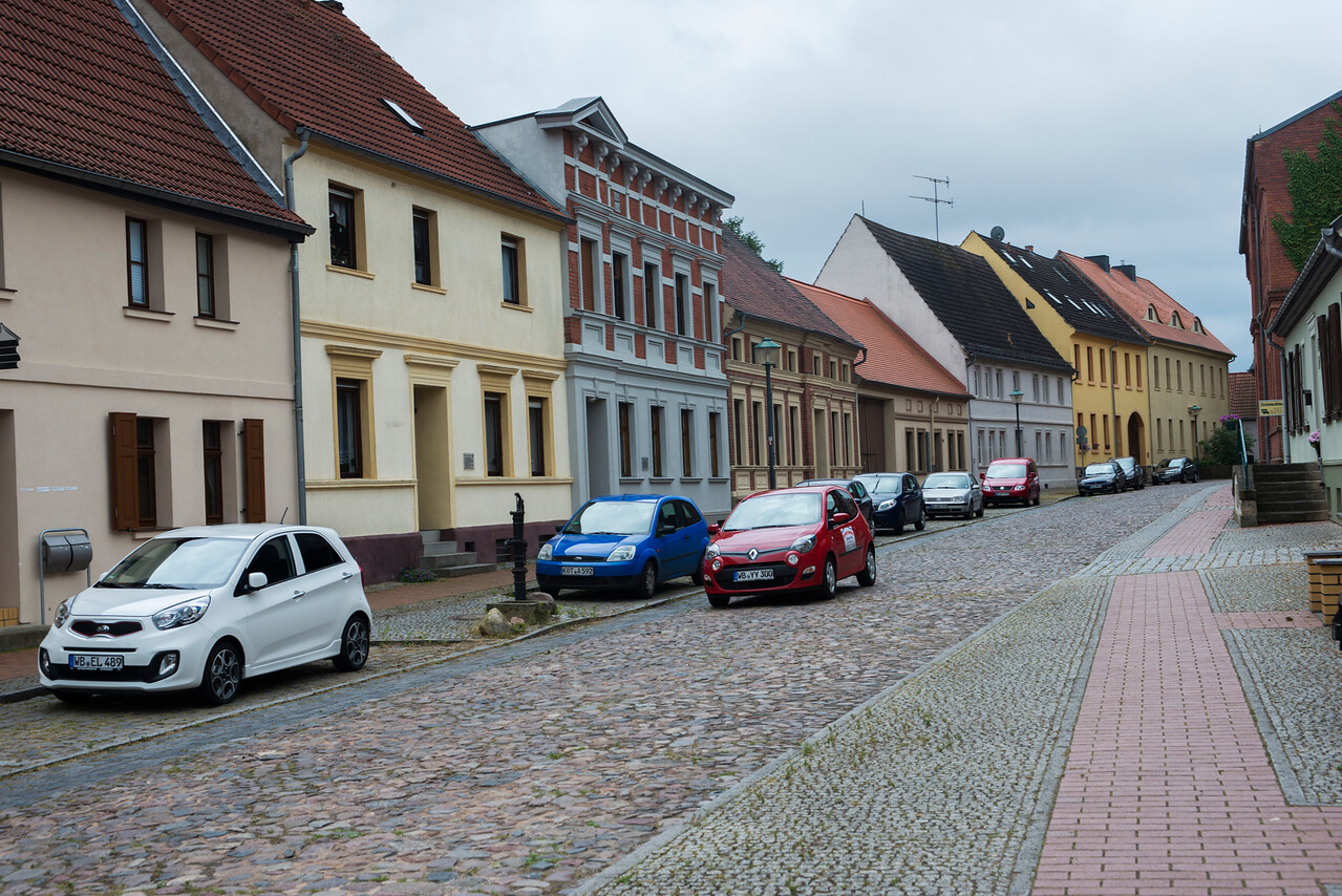 Wörlitz town street.