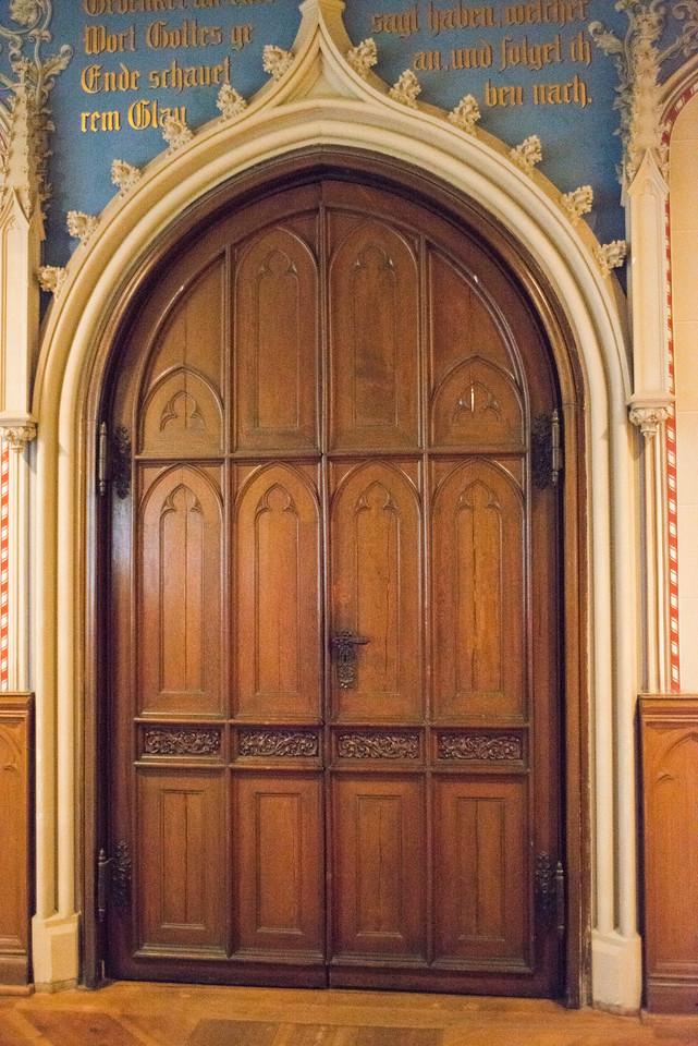 Door detail Lutherhaus.