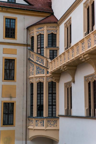 Hartenfels Castle detail.