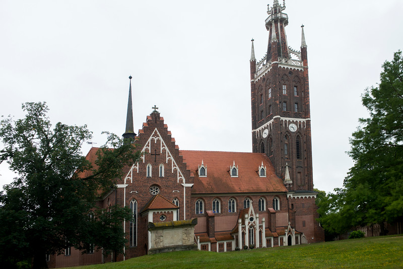 Church at Worlitz.