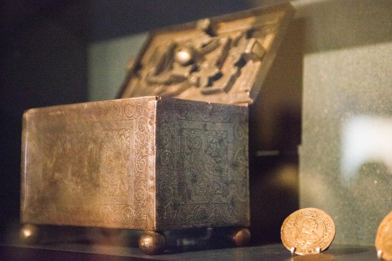 Money box at Lutherhaus.