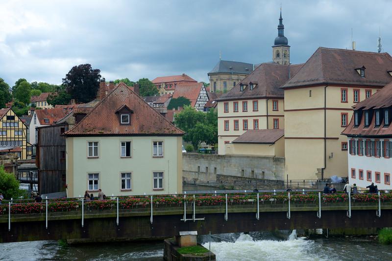 Waterways converge.