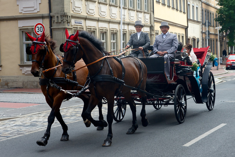 A third Saturday wedding in Bamberg.