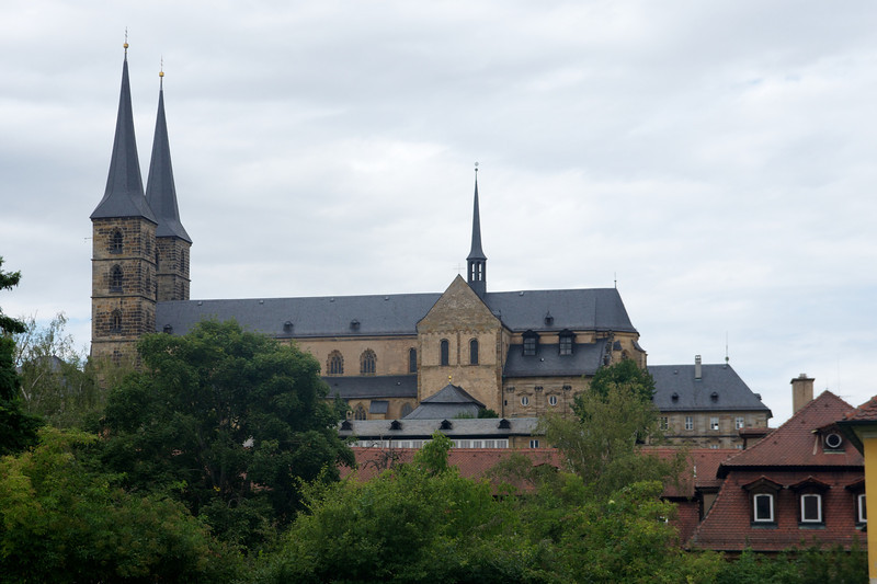 Michaelskirche (St. Michael's Church), a 12th century structure, formerly a Benedictine monastery.