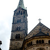 Bamberg Cathedral built in 11th century and redesigned in the Romanesque style.