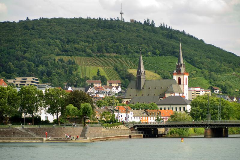 Bascillica St. Martin, Bingen, Germany.