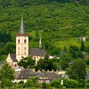 Saint Martin Church, Lorch Germany.