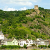 Gutenfels Castle near Kaub, Germany.