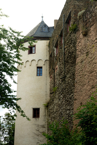 Marksburg Castle, the only castle on the Rhine never destroyed is over 700 years old.