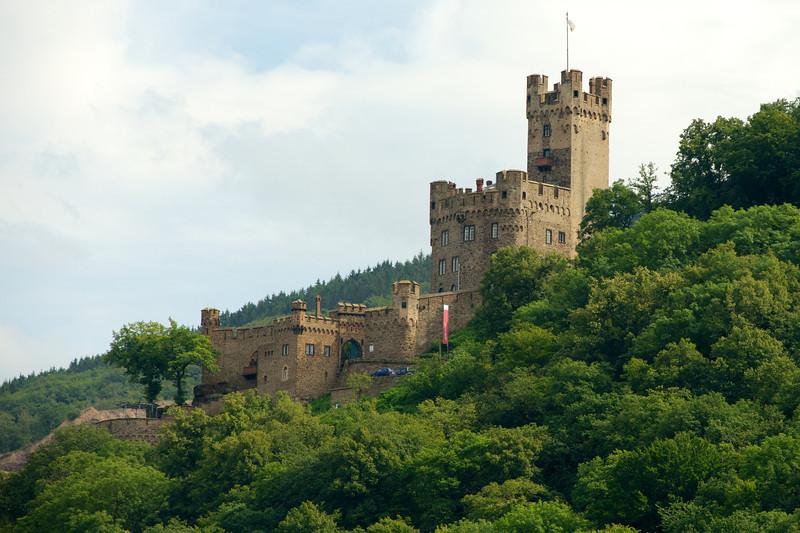 Sooneck Castle near Niederheimbach.