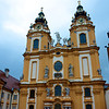 Church at the Melk Abbey.