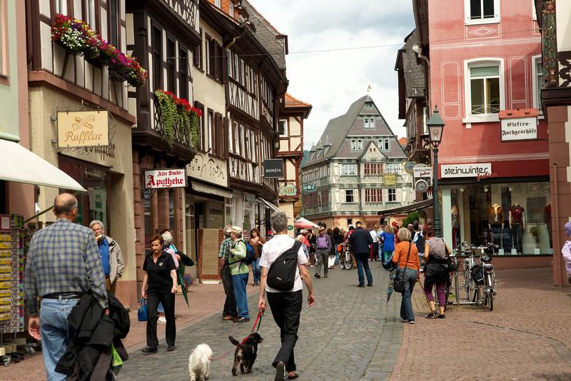 Down the main street from Zum Riesen.
