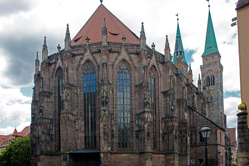 St. Lorenz Church.