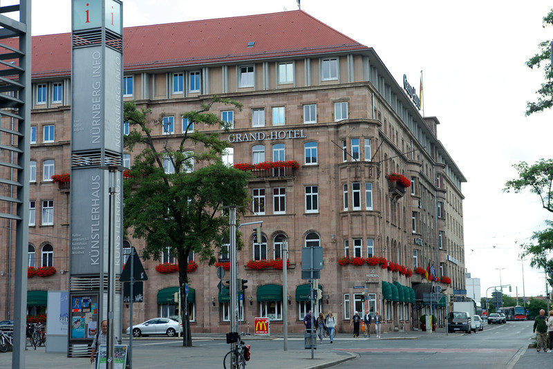 The Meridien Grand Hotel in Nuremberg.