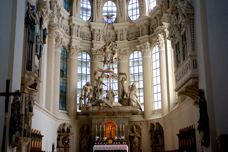 Main altar at St. Stephen's.