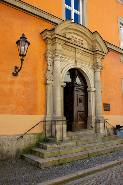 "A ""high school""  in Germany is actually a university.  This building is the Catholic Theological Institute of Passau University."